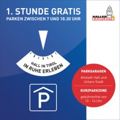 Gratis parken in Hall